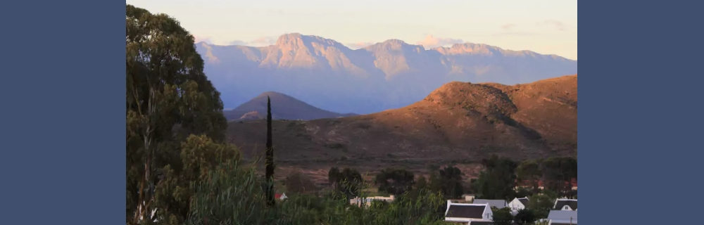 Karoo Cottage McGregor Langeberg mountains